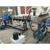China Compact Structure WPC PVC Foam Board Machine With Double Screw wholesale