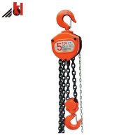 Quality Polished 12m Lifting Height 20T Manual Chain Block for sale