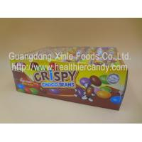 China Normal Sugar Coated Mini Chocolate Beans Colorful Children Love For African wholesale