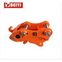 China Mini Excavator Manual Hydraulic Quick Hitch For Excavator Attachments wholesale