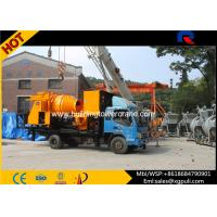 China Truck Mounted Concrete Mixer Pump Truck Max Pumping Output 40m3/h wholesale