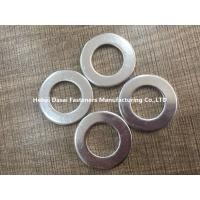 China Grade 6.8 Carbon Steel Flat Washers Din 125A M30 Size High Corrosion Resistance wholesale