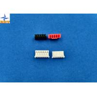 China Single Row Board To Wire Connectors Pitch 2.00mm PA66 Housing With Lock Top Entry Type Connector wholesale