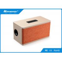 China Wireless Stereo Wooden Bluetooth Speaker Rechargeable With SD/TF Card Slot wholesale