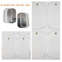 China epoxy sticker and resin dog tag wholesale