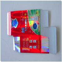 China Laminated OPP Laser Film Paper packaging Boxes wholesale