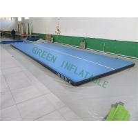 China Flat Surface Inflatable Landing Mat , Bouncy Gymnastic Mats Wear Resistance wholesale