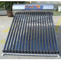 China compact solar water heater with heat pipe collector wholesale
