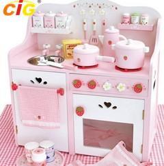 China Kid Kitchen Popular Outdoor Furnitures Kitchen Toy Set 380*660*700mm on sale