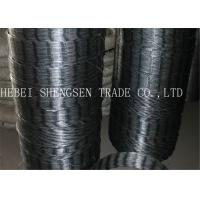 Quality CBT65 22 mm Galvanized Razor Fence Wire Anti Rust Used For Mesh Fence for sale