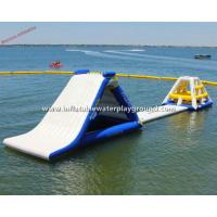 China Commercial Inflatable Water Park Equipment , Durable PVC Tarpaulin on sale