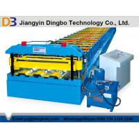 China Metal Deck Roll Forming Machinery with High Speed Running with Hydraulic System wholesale