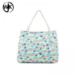 China Wholesale custom logo organic factory price cloth bag nice design canvas beach bag canvas shopping bag wholesale