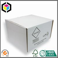 China White Color Corrugated Cardboard Packaging Box with Divided Inserts for Food wholesale