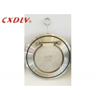 Buy cheap CF8 Soft NBR Seat Wafer Swing Check Valve Zero Leakage from wholesalers