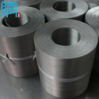 China Auto Mesh Belt Filter/SS 304 Reverse Dutch Weave Wire Mesh Belt For Plastic Extrusion Changers wholesale