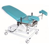 Buy cheap Two Mattress Section Obstetric Hospital Delivery Bed With Brake And 5 Inch from wholesalers