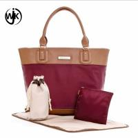 China China baby factory good price diaper handbag fashion tote big size sets diaper bag mother baby bag wholesale