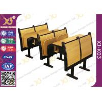 China Modern Wood School Desk And Chair For Student / College Classroom Furniture wholesale