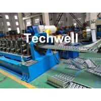 China 0-15m/min Cable Tray Roll Forming Machine For Making Steel Cable Tray Sheets wholesale