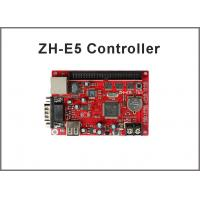 China zhonghang led controller card ZH-E5 256*640 pixel usb/serial/ethernet port p10 led sign led stage screen on sale