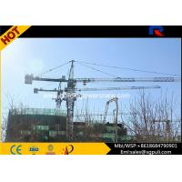 Quality QTZ5613 8T Lifting Load Building Tower Crane Jib Length 13.36m With Remote Control for sale