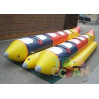 China Popular EN15649 PVC Banana Boat Inflatable Water Game 531x210cm wholesale
