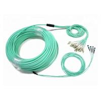 Quality Customized 48-96 Fiber Optic Patch Cord OM4 MTP/MPO 3 Meters With LC Connector for sale
