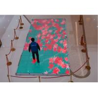 China IP65 Full Color LED Video Display , P6.25 Dancing Floor LED Panel With Interactive Radar wholesale