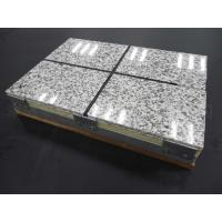 China Thermal Insulation Fireproof Fiber Cement Board Rock Wool Sandwich Panel wholesale