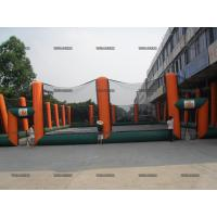 Quality Customized Paintball Field Game Fence Inflatable Paintball Bunkers Arena Outdoor for sale