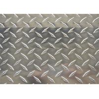 China Diamond Plate Aluminum Sheet Metal 5052 1.5mm 2mm 2.5mm Checkered Aluminum Sheets wholesale