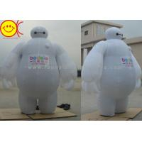 China Baymax Mobile Inflatable Advertising Costumes Easily Folds Away For Compact Storage wholesale