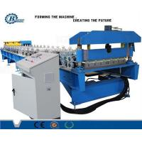 Wholesale Metal Steel Roof Panel Roll Forming Machine Blue PLC Control from china suppliers