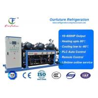 China R404a Hanbell parallel screw compressor racks for frozen food storage wholesale