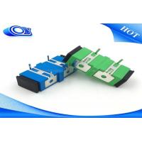 Wholesale Singlemode SC UPC APC  Fiber Optic Adapter with Press - fit Elastic iron from china suppliers