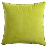 Yellow Embroidered Throw Pillows : 18x18? Embroidered Plain Throw Pillows Cover Yellow Red For Chair Sofa of decorativepillowcover