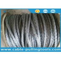 China  Used In Pulling Conductor Square 12 Strands Galvanized Anti-twisting braided steel wire rope  for sale