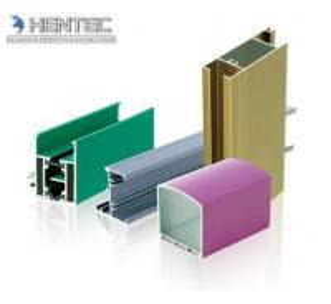 China Powder Painted Aluminum Window Extrusion Profiles Chemical / Mechanical Polishing wholesale