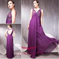 Buy cheap empire purple cocktail dresses, purple elegant cocktail dresses from wholesalers