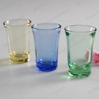 China high quality solid color glass shot glass for wholesale wholesale
