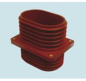 China IEC Approved Cast Resin insulator Switchgear Through Wall Bushing 140X200X230mm wholesale