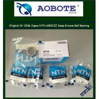 China Molding Machine Deep Groove NTN Ball Bearings 6802ZZ With High Speed wholesale