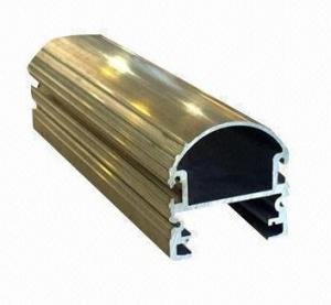 China Steel Polished Structural 6061 Aluminum Profile , Wood Grain Coated Extrusion Aluminum Profiles wholesale