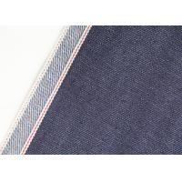 China Soft Lightweight Denim Fabric , Jackets Cotton Polyester Spandex Denim Fabric wholesale