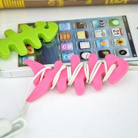 Quality Colorful Households Products Earphone Line Twister Fishbone Cable Holding for sale