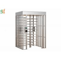 China Automatic Turnstiles Security Pedestrian Gate Full Height Turnstile wholesale
