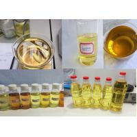 China Light yellow liquid Blend Steroid Injection Oil Tritren 180mg / ml for Muscle Gain wholesale