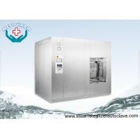 China Floor Stand Automatic Autoclave Steam Sterilizer With Pulsating Pre-vacuum And Post Vacuum Phase wholesale