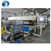 China Spiral Feeding Plastic Board / TPE Sheet Extrusion Line 380V 50Hz CE wholesale